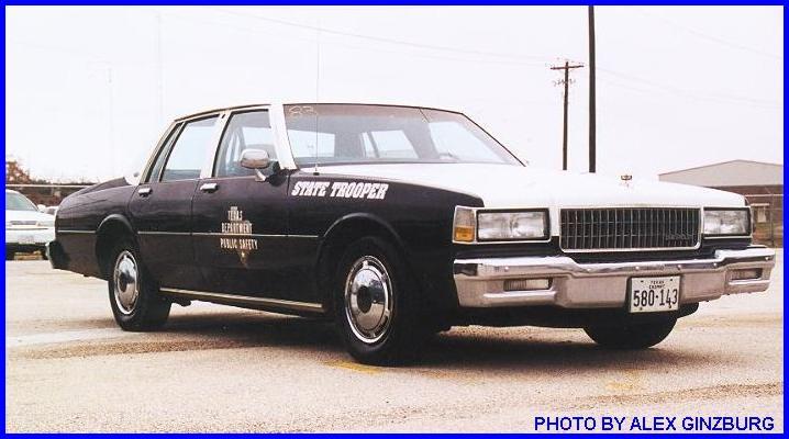 caprice car service  1986-1990 Chevrolet Caprice 9C1
